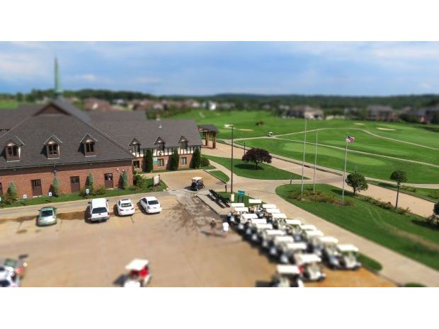 clubhouse arial view